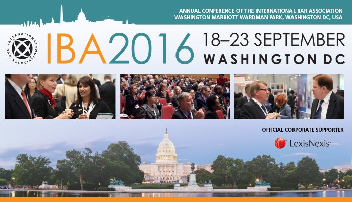 Dr. Anthony Rhem to present at the International Bar Association's Annual Conference